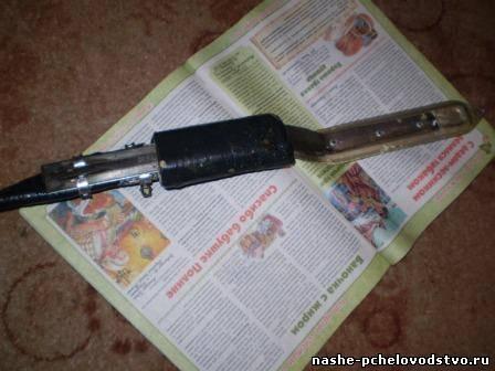 Как сделать паровой нож для 374